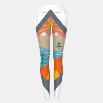 Thumbnail image of Beautiful Place for Camp Leggings, Live Heroes