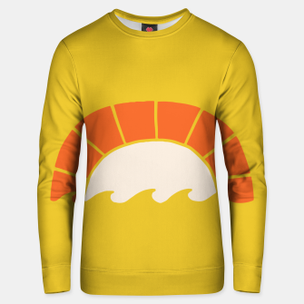 Thumbnail image of Sunset and Beach Unisex sweater, Live Heroes