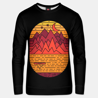 Thumbnail image of Lake and Mountain Unisex sweater, Live Heroes
