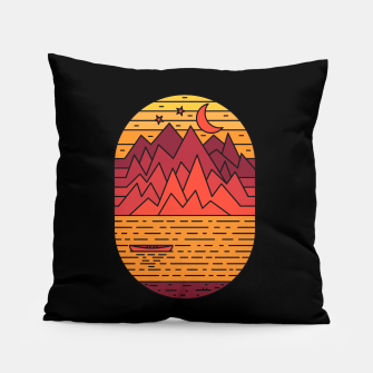 Thumbnail image of Lake and Mountain Pillow, Live Heroes