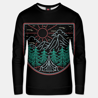 Thumbnail image of Great Place for Camping Unisex sweater, Live Heroes