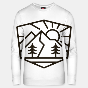 Thumbnail image of Sunrise and Mountain for light Unisex sweater, Live Heroes