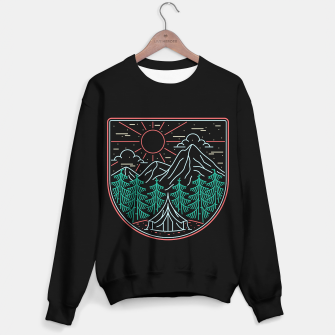 Thumbnail image of Great Place for Camping Sweater regular, Live Heroes
