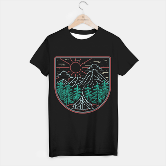 Thumbnail image of Great Place for Camping T-shirt regular, Live Heroes