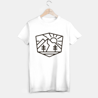 Thumbnail image of Sunrise and Mountain for light T-shirt regular, Live Heroes