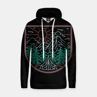 Thumbnail image of Great Place for Camping Hoodie, Live Heroes