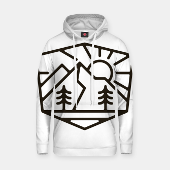Thumbnail image of Sunrise and Mountain for light Hoodie, Live Heroes