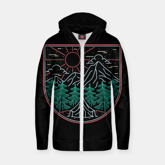 Thumbnail image of Great Place for Camping Zip up hoodie, Live Heroes
