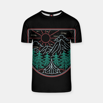 Thumbnail image of Great Place for Camping T-shirt, Live Heroes