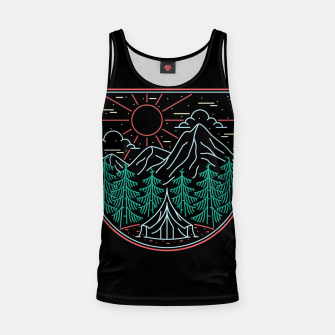 Thumbnail image of Great Place for Camping Tank Top, Live Heroes