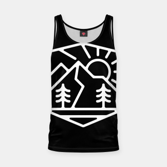 Thumbnail image of Sunrise and Mountain for dark Tank Top, Live Heroes