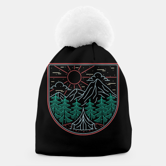 Thumbnail image of Great Place for Camping Beanie, Live Heroes
