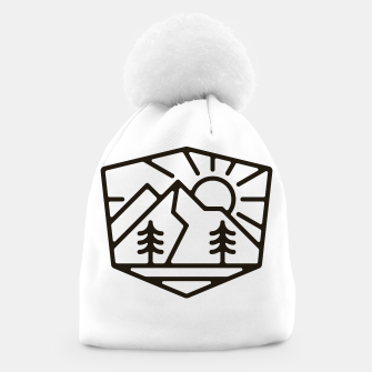 Thumbnail image of Sunrise and Mountain for light Beanie, Live Heroes