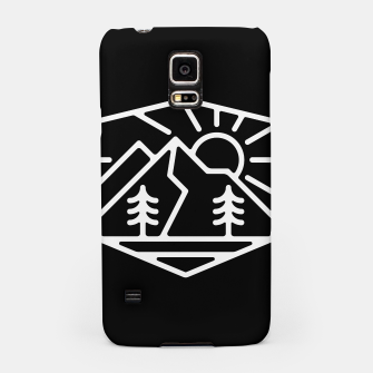Thumbnail image of Sunrise and Mountain for dark Samsung Case, Live Heroes