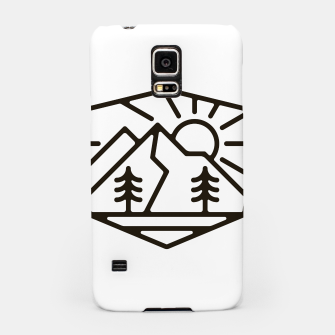 Thumbnail image of Sunrise and Mountain for light Samsung Case, Live Heroes
