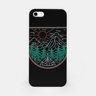 Thumbnail image of Great Place for Camping iPhone Case, Live Heroes