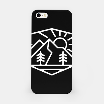 Thumbnail image of Sunrise and Mountain for dark iPhone Case, Live Heroes