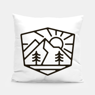 Thumbnail image of Sunrise and Mountain for light Pillow, Live Heroes