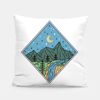 Thumbnail image of Beautiful Place Pillow, Live Heroes
