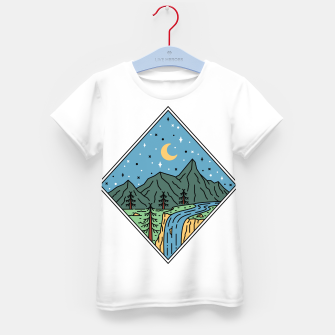 Thumbnail image of Beautiful Place Kid's t-shirt, Live Heroes