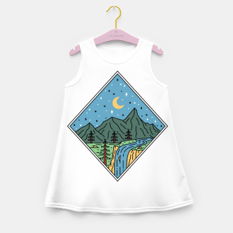 Thumbnail image of Beautiful Place Girl's summer dress, Live Heroes