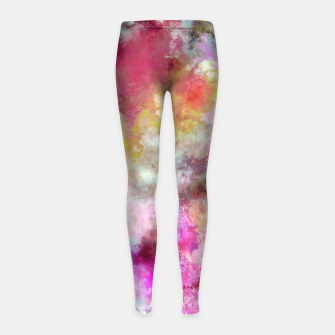 Thumbnail image of A choice of ingredients Girl's leggings, Live Heroes