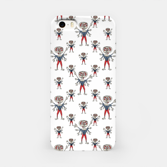 Miniaturka Sketchy Style Scarecrow Drawing iPhone Case, Live Heroes