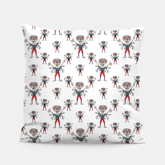 Miniaturka Sketchy Style Scarecrow Drawing Pillow, Live Heroes