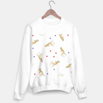 Thumbnail image of Reindeer and stars Sweater regular, Live Heroes
