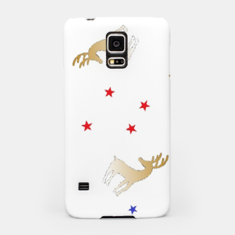 Thumbnail image of Reindeer and stars Samsung Case, Live Heroes