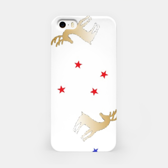 Thumbnail image of Reindeer and stars iPhone Case, Live Heroes