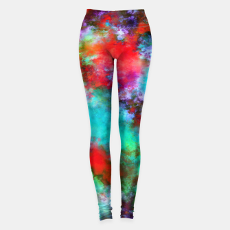 Thumbnail image of Bright ghosts Leggings, Live Heroes