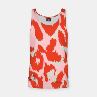 Thumbnail image of Cheetah Print in Hot Pink and Red  Tank Top, Live Heroes