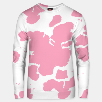 Thumbnail image of Pink Cowhide Spots Unisex sweater, Live Heroes