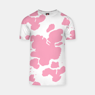 Thumbnail image of Pink Cowhide Spots T-shirt, Live Heroes