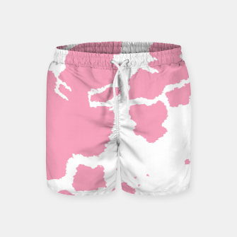 Thumbnail image of Pink Cowhide Spots Swim Shorts, Live Heroes
