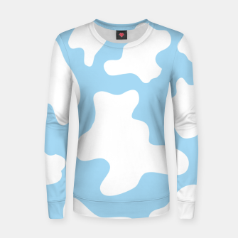 Thumbnail image of Pastel Cow Spots Pattern Women sweater, Live Heroes