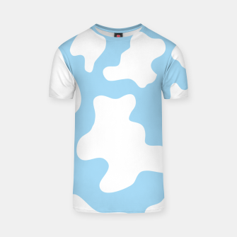 Thumbnail image of Pastel Cow Spots Pattern T-shirt, Live Heroes