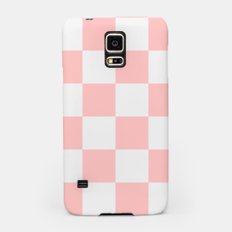 Thumbnail image of Pink Checkered Pattern Samsung Case, Live Heroes