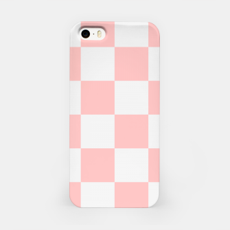 Thumbnail image of Pink Checkered Pattern iPhone Case, Live Heroes
