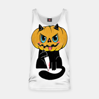 Thumbnail image of Purrkin Tank Top, Live Heroes