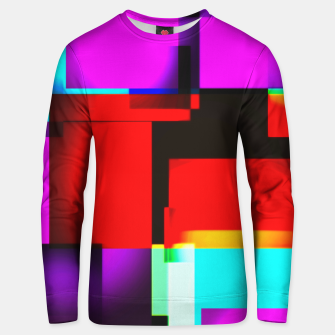 Thumbnail image of abstract squares Unisex sweatshirt, Live Heroes