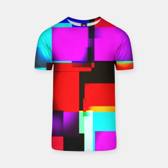Thumbnail image of abstract squares T-Shirt, Live Heroes