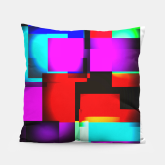 Thumbnail image of abstract squares Kissen, Live Heroes