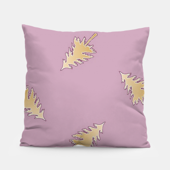 Thumbnail image of Brown trees purple Pillow, Live Heroes