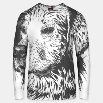 Thumbnail image of Portrait of a dog Unisex sweater, Live Heroes