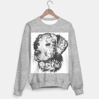 Thumbnail image of Portrait of a dog Sweater regular, Live Heroes
