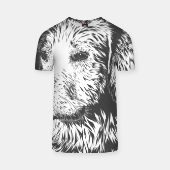 Thumbnail image of Portrait of a dog T-shirt, Live Heroes