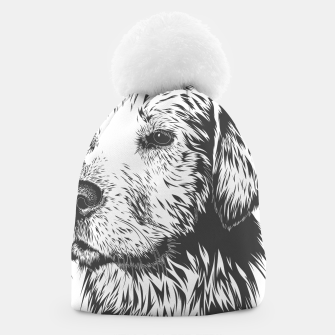 Thumbnail image of Portrait of a dog Beanie, Live Heroes