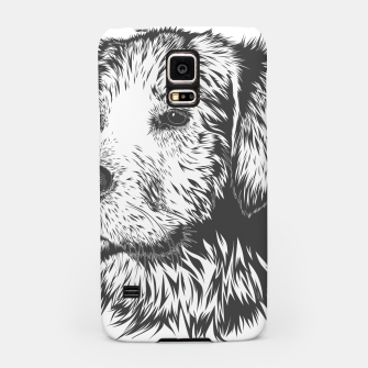 Thumbnail image of Portrait of a dog Samsung Case, Live Heroes